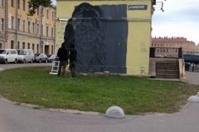 Художника забрали в полицию после нового граффити с соседкой прапорщика Задова
