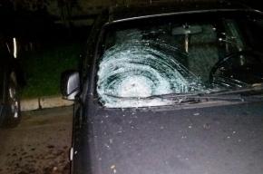 Кастрюлю с супом сбросили на машину на проспекте Ударников