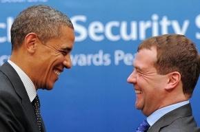 Медведев «перекинулся парой фраз» с Обамой в Лаосе