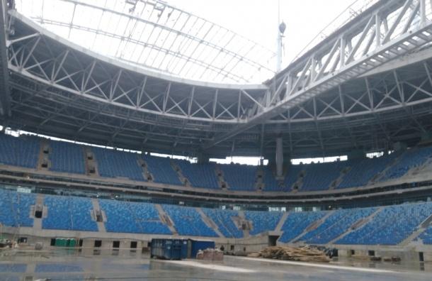 СМИ доказали связь Дерипаски со строительством «Зенит-Арены»