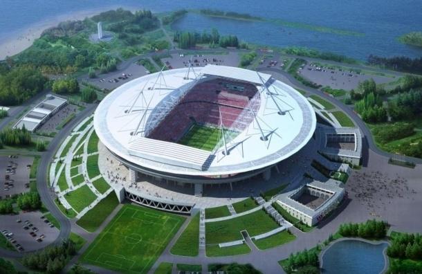 Митрополит Варсонофий освящает стадион «Зенит-Арена»