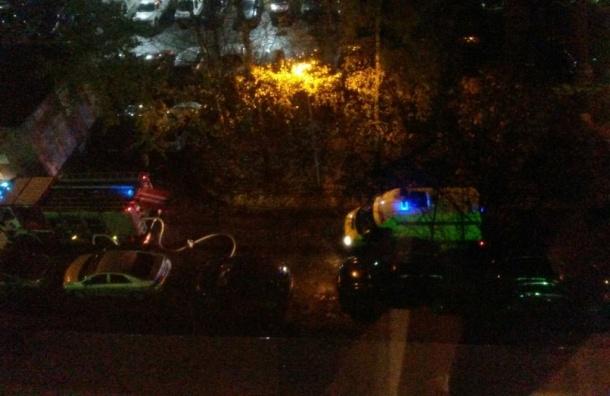 Наулице Савушкина тушили пожар в 2х-комнатной квартире— Петербург