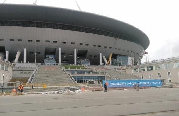 Отмывать стадион на Крестовском могут позвать студентов