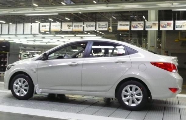 Завод Hyundai Motor остановит конвейер на пять дней