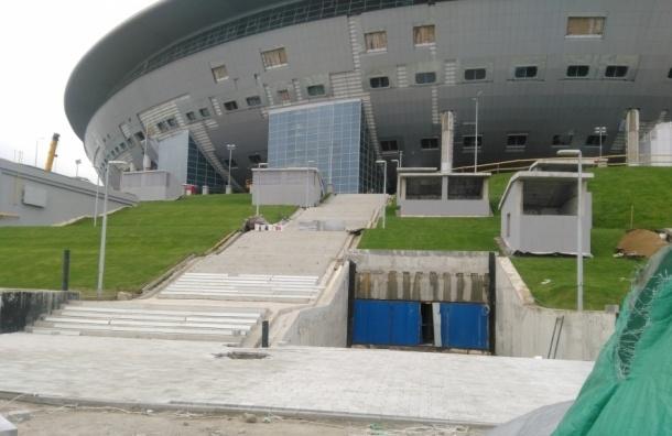 Протечки на стадионе на Крестовском не прекратятся
