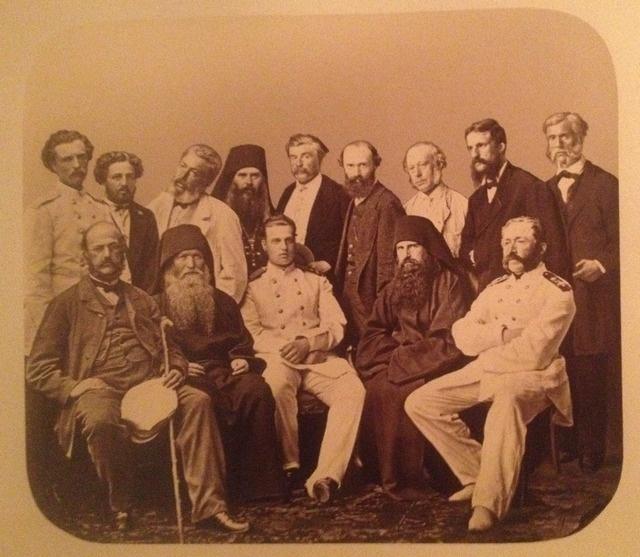 _Великий князь Алексей Александрович, свита и афонские старцы, Афон, 1867 г