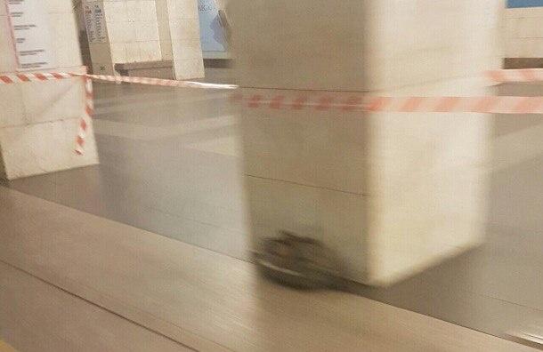 «Технологический институт» закрыли из-за забытой сумки на платформе