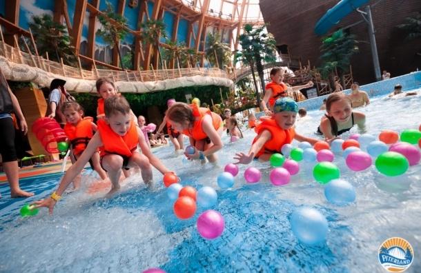 Аквапарки «Питерлэнд» устроят праздник на воде в дни школьных каникул