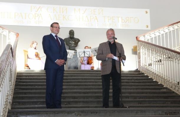 Сбербанк открыл двери Русского музея
