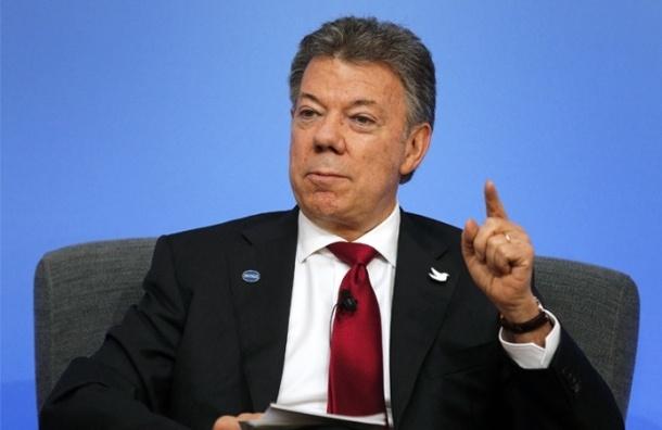 Нобелевской премией мира наградили президента Колумбии