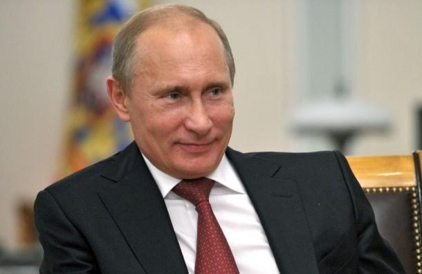 Популярность Владимира Путина среди граждан России снова зашкаливает