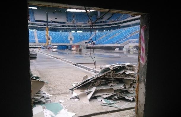Журналистам закрыли вход на стадион на Крестовском острове