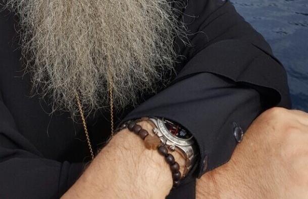Митрополит Варсонофий засветил на фото «Ролекс»