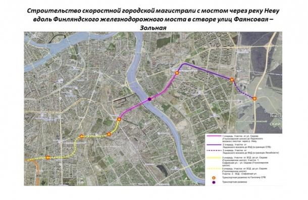 Петербуржцы готовы выйти на улицу, если Восточный скоростной диаметр построят у их домов