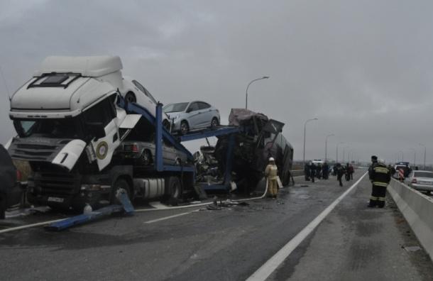 Четверо детей и взрослый погибли в аварии с автобусом на трассе «Кавказ»