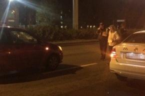 Пешехода сбили на Московском шоссе