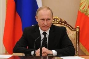 Путин отказался от встречи с Олландом