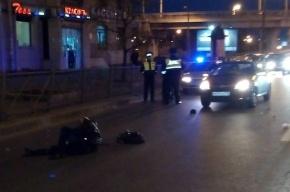 Пьяного пешехода сбили на Ивановской улице