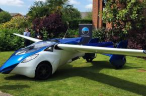 Первый летающий автомобиль начнут продавать в 2017 году