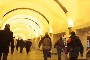 «Проспект Просвещения» закрыли для пассажиров из-за пакета