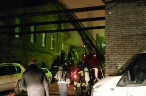 Пожар в ДК имени 10-летия Октября потушили в Петербурге