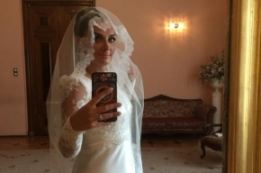 Ваенга вышла замуж в Петербурге