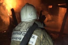 Спасатели эвакуировали из-за пожара 20 жильцов дома на улице Льва Толстого