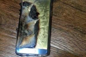 Пассажиров рейса Петербург-Франкфурт попросили выкинуть при входе Samsung Note 7
