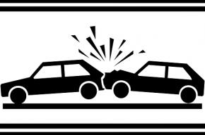 Четыре автомобиля столкнулись на Приморском шоссе