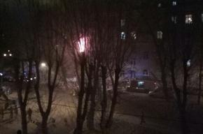 Очевидцы: из горящей квартиры на Ивановской улице спасли мужчину