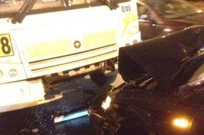 Пьяный автомобилист спровоцировал серьезную аварию на Металлистов