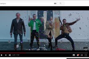 Шнуров выпустил клип в стиле Тарантино и Гая Ричи