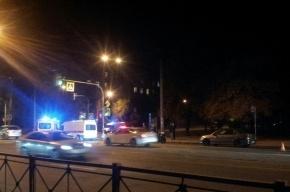 Пешехода сбили на севере Петербурга