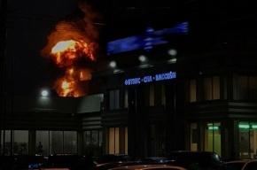 Серьезный пожар произошел на Кировском заводе