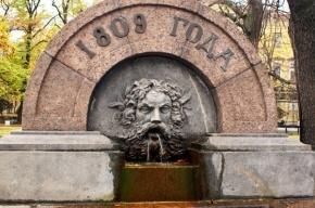 Водоканал закроет сезон фонтанов в Петербурге в это воскресенье