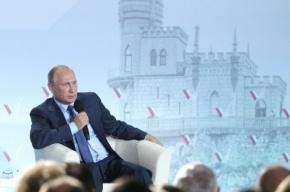 Путин об организаторах энергоблокады Крыма: «Удивительные идиоты»