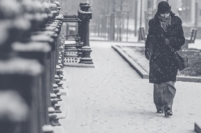 Снегопады надвигаются на Петербург