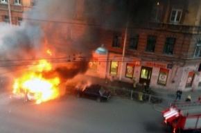 После аварии на Константина Заслонова были слышны взрывы