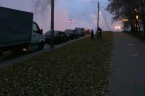 Больше 60 зданий остались без тепла из-за аварии у СКК