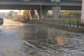 Потоп из-за прорыва трубы произошел на Мебельной улице