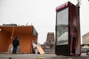 Полтавченко пообещал снести все незаконные торговые палатки