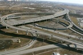 Движение по внешнему кольцу КАД на Большом Обуховском мосту ограничат до середины ноября