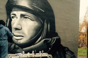 Граффити с изображением Моторолы появилось в Петербурге