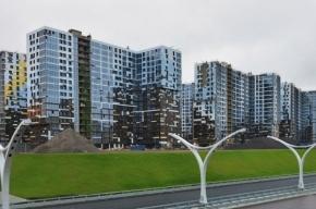 Первые жилые дома на намыве Васильевского острова введены в эксплуатацию
