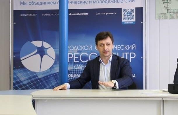 Спикер Заксобрания— обэкс-председателе петербургского избиркома