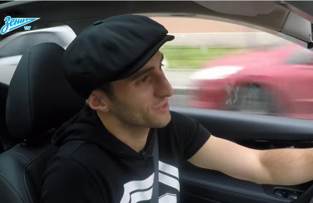 Футболист «Зенита» на день стал таксистом