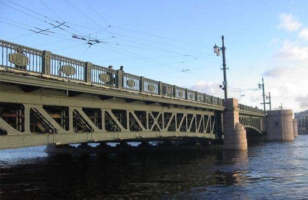 Прыгнувшего с Дворцового моста мужчину спасатели ищут в течение дня