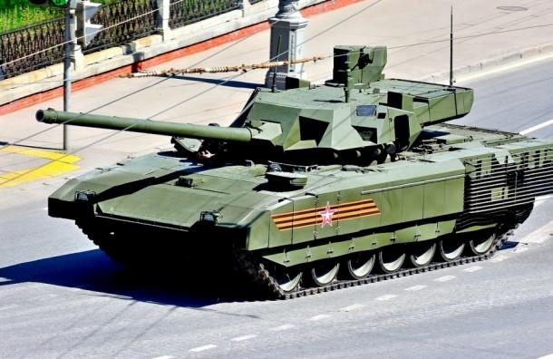 Российский танк «Армата» назвали революционным