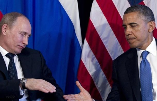 Владимир Путин пригласил Обаму в Россию в «любое время»