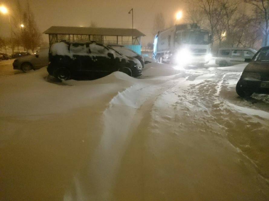снег 8